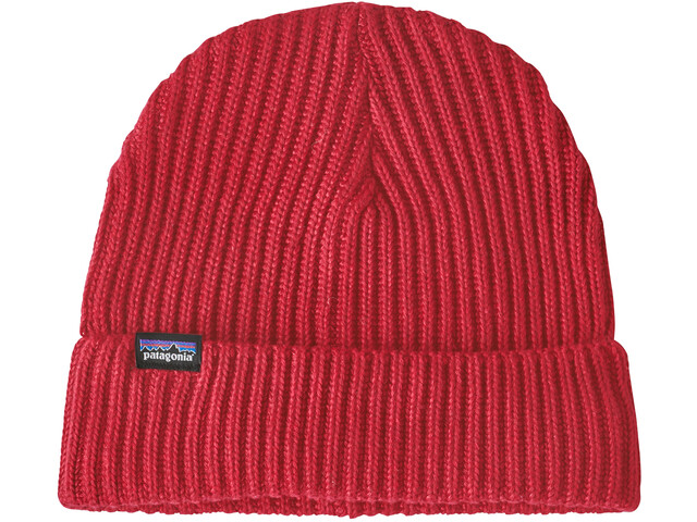 Patagonia Fishermans Rolled Beanie, rincon red